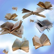 positive quotes - flying books