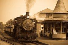 short love story - train for America