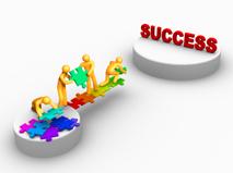 quotes about success - success puzzle