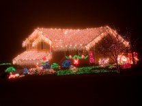 outdoor Christmas lights - Christmas house