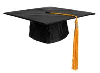teacher attitude - graduation cap