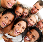 laughter is the best medicine - group laugh