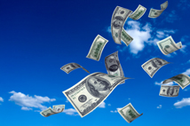 money quotes- money falling from the sky