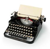 typewriter, old fashioned typewriter