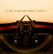 story starters - it was a dark and stormy night