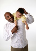 history of fathers day - father and son