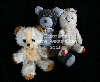 old teddy bears