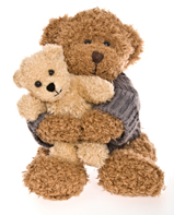 draw a teddy bear - teddy bear hug